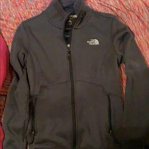 North face zip jacket